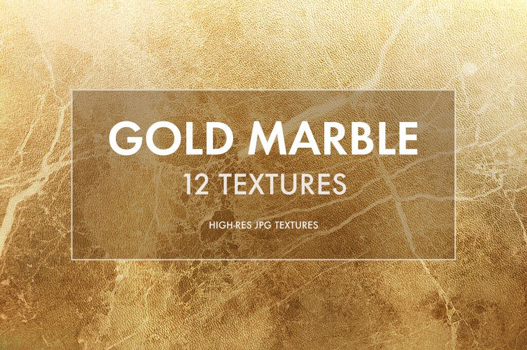 Gold Marble Texture Patterns