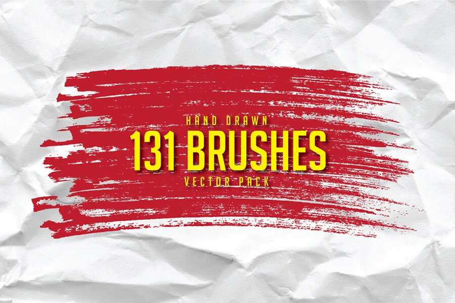 Hand-Drawn Illustrator Brushes Pack
