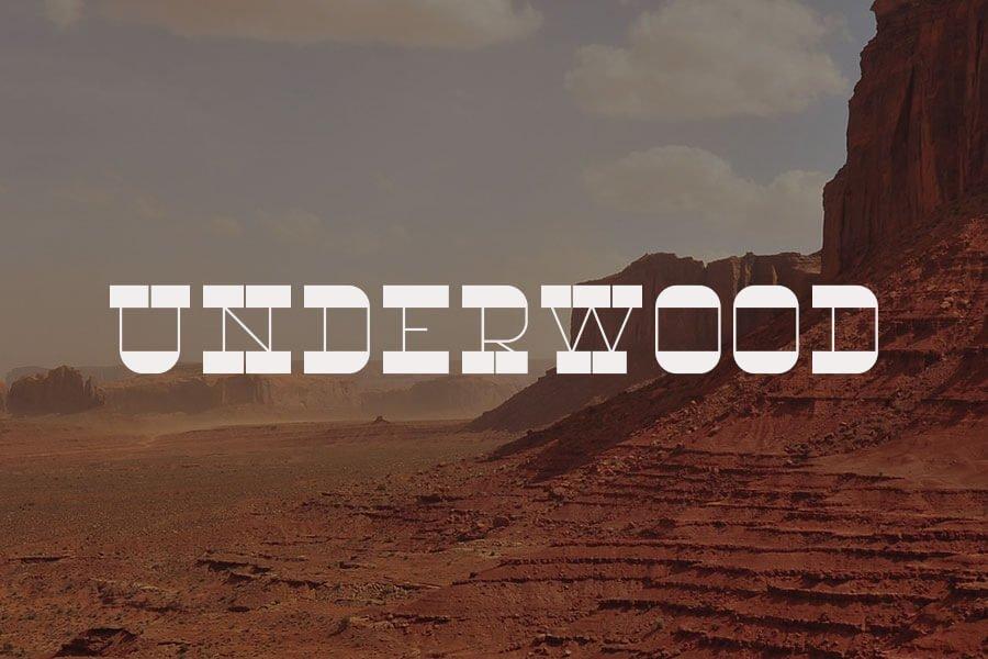 RNS Underwood Font