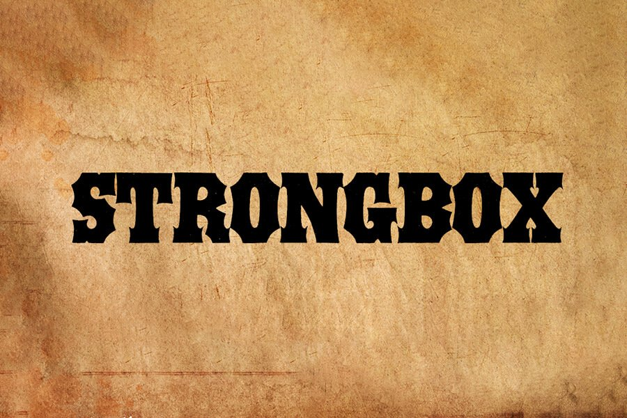 Strongbox Font