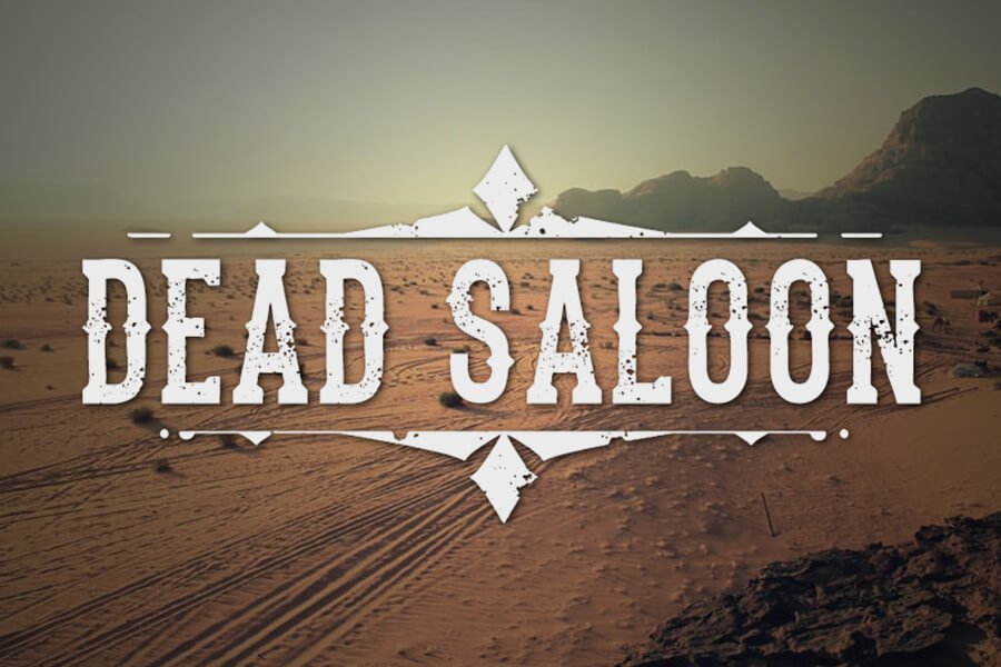 The Dead Saloon Font
