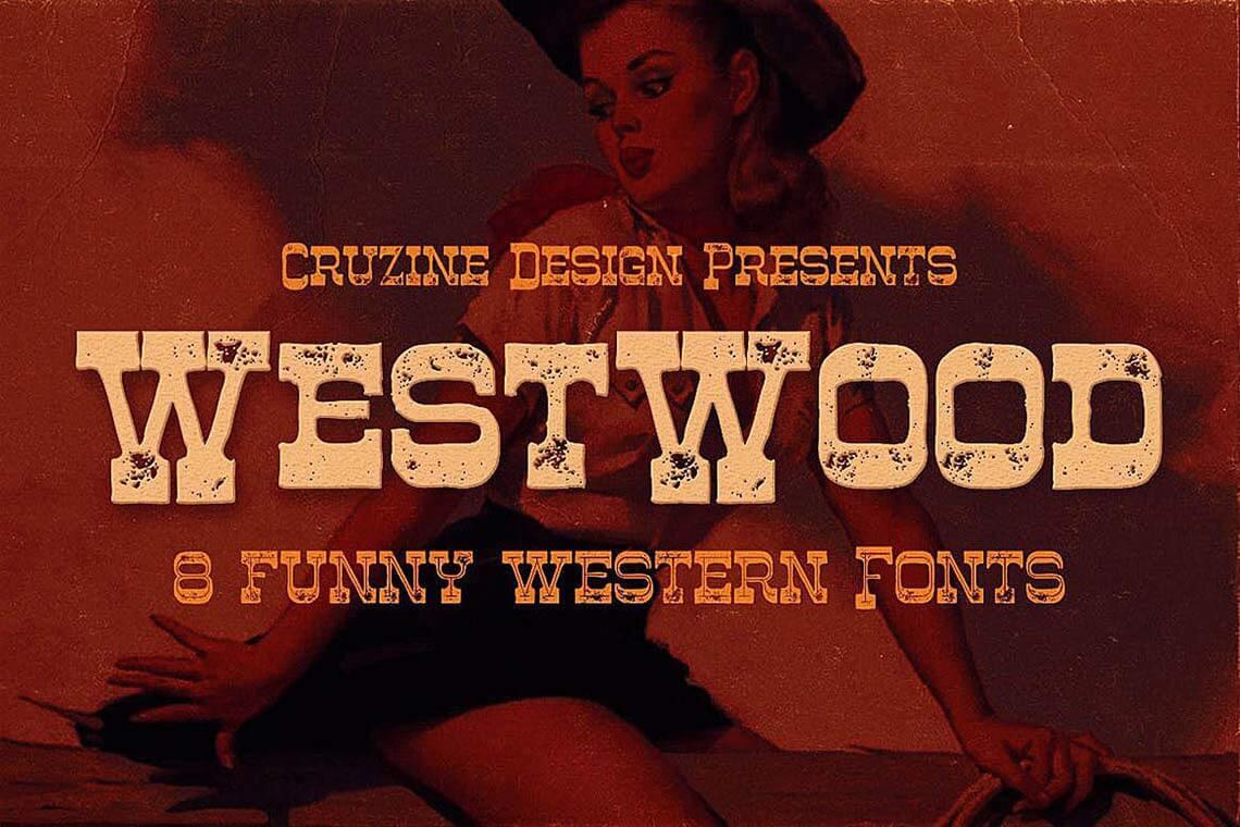 Westwood - Funny Western Font