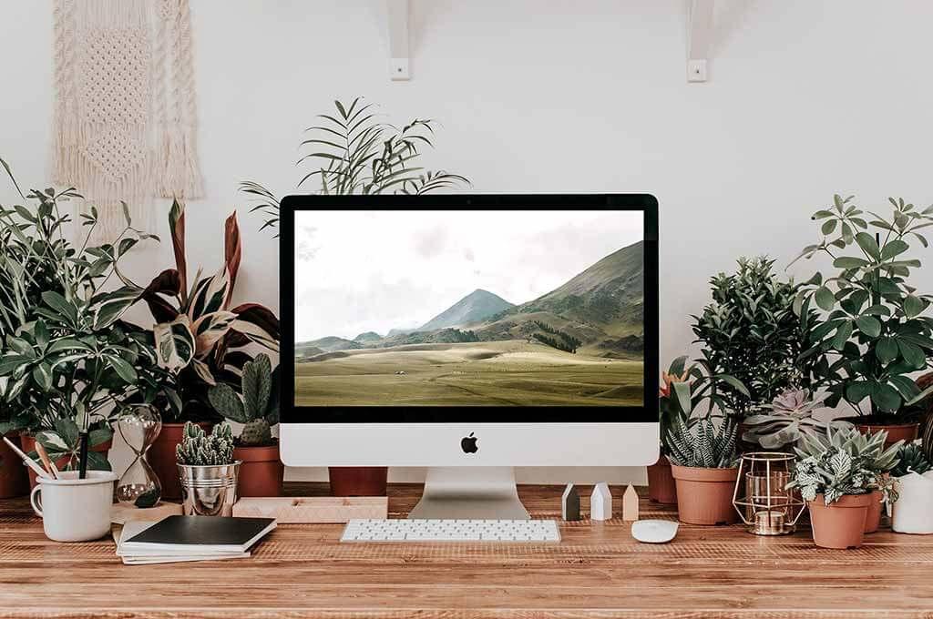 iMac & Macbook Mockup Scenes