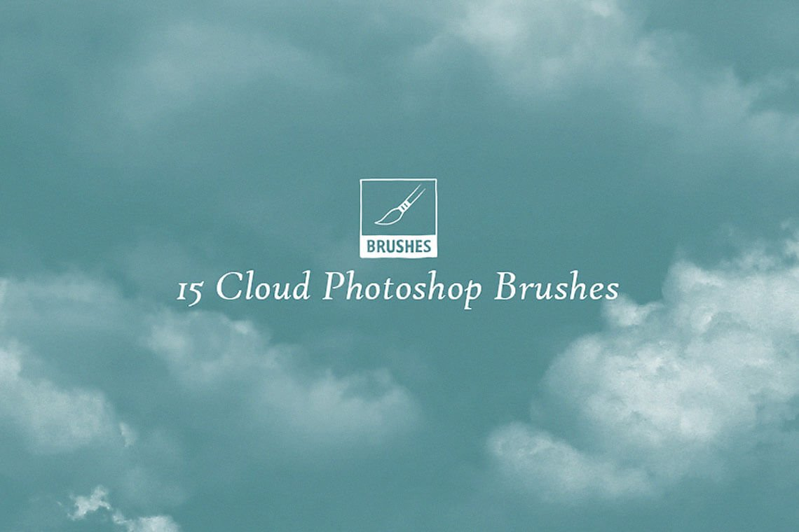 15 Cloud Photoshop Brushes