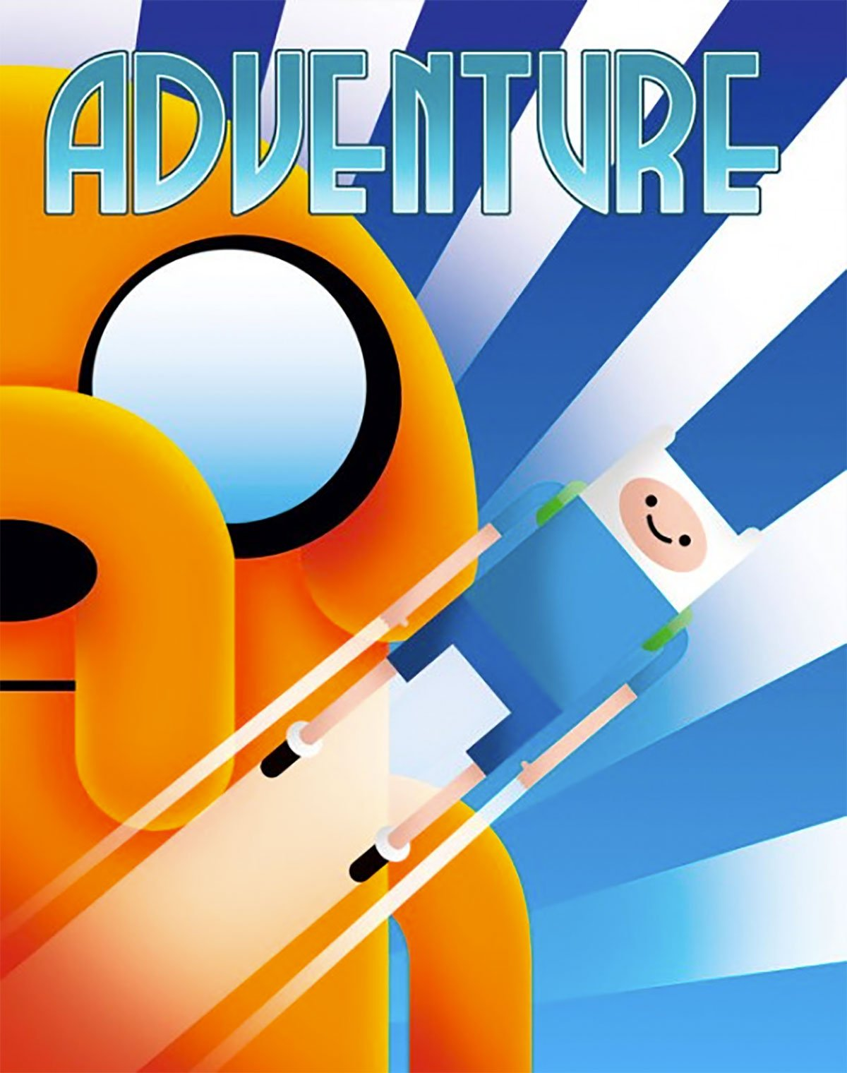 Adventure Time by Aaron Wood