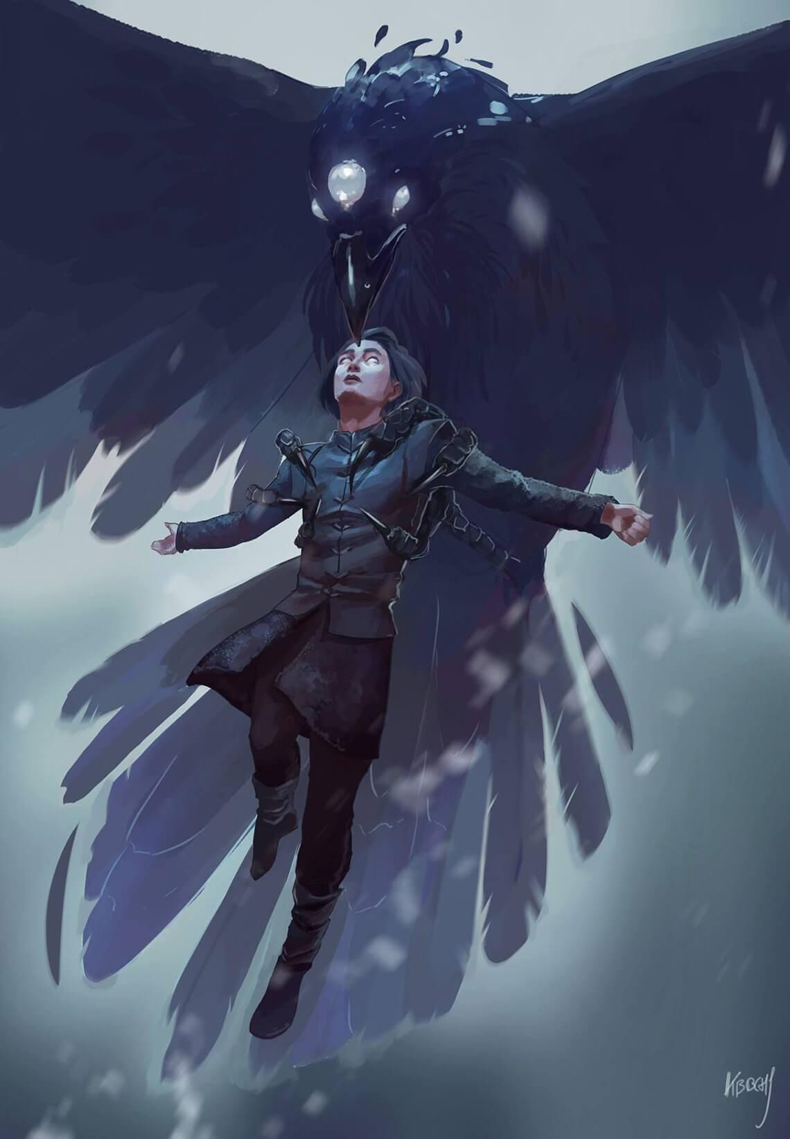 Bran Stark by Julie Kabbache