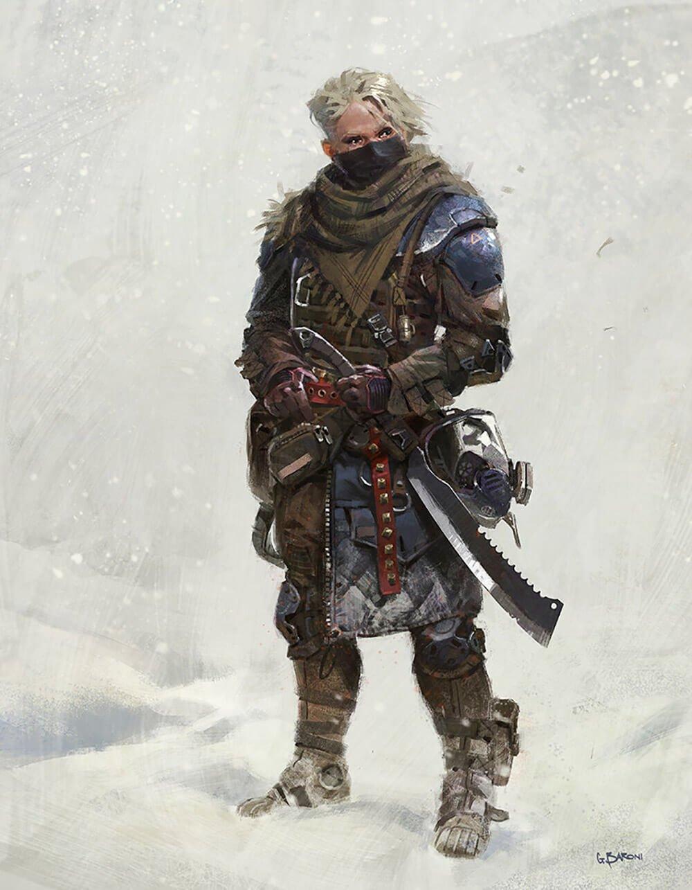 Brienne of Tarth by Giorgio Baroni
