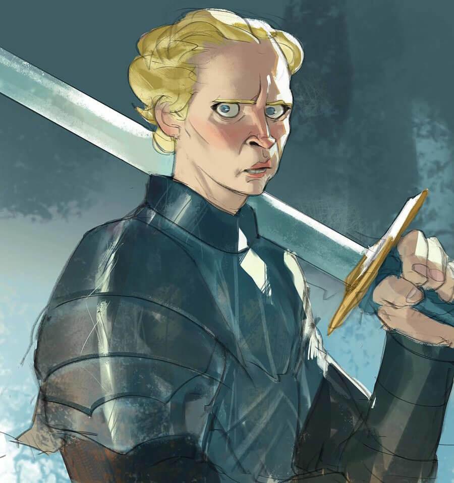 Brienne of Tarth by Ramón Nuñez