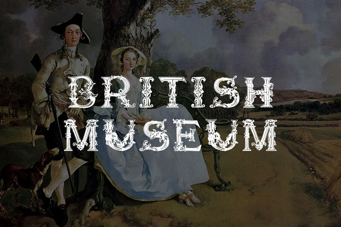 British Museum Font