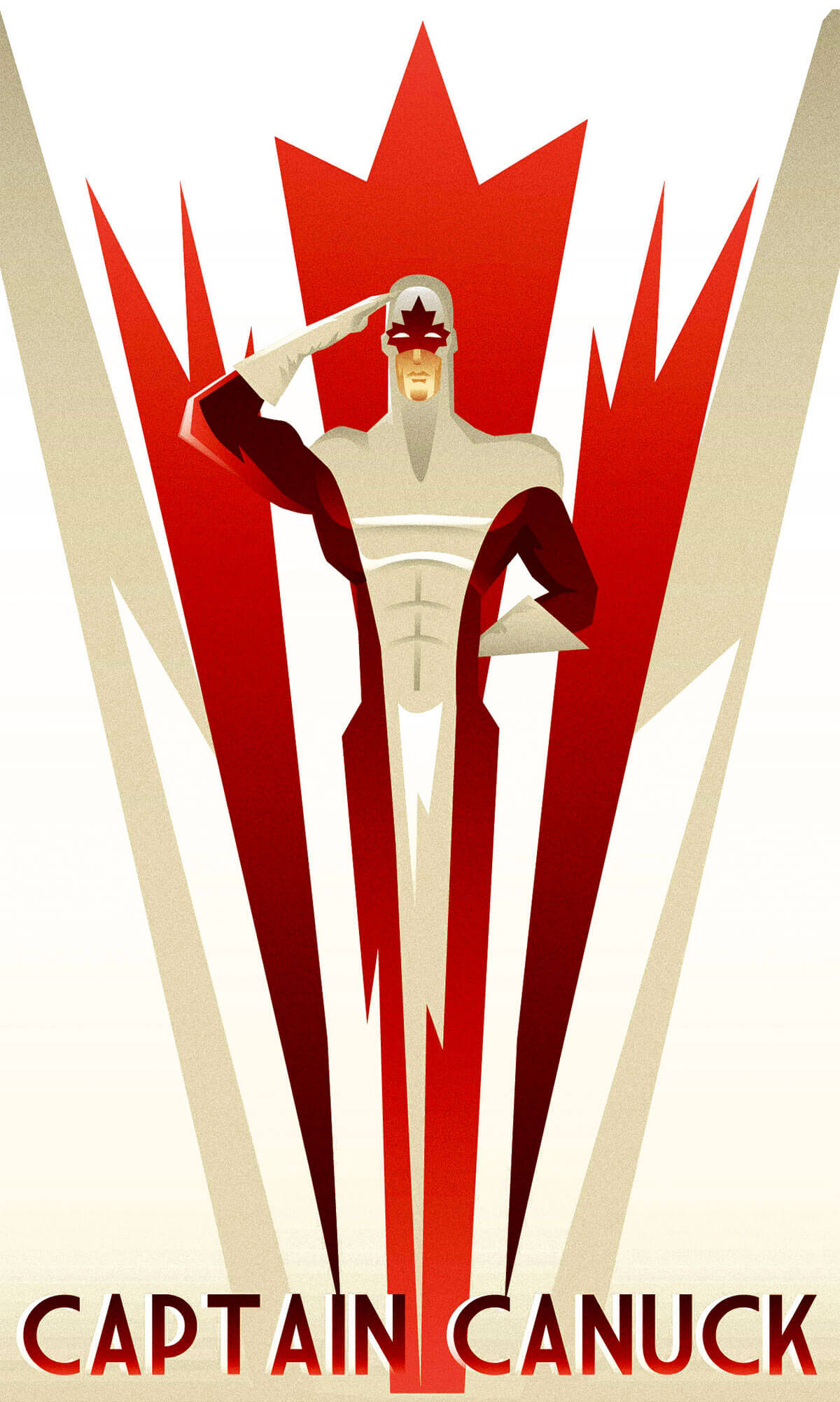 Captain Canuck by Rodolfo Reyes