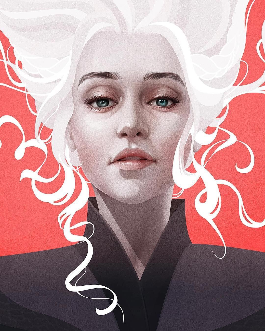Daenerys Targaryen by YANA and JUN