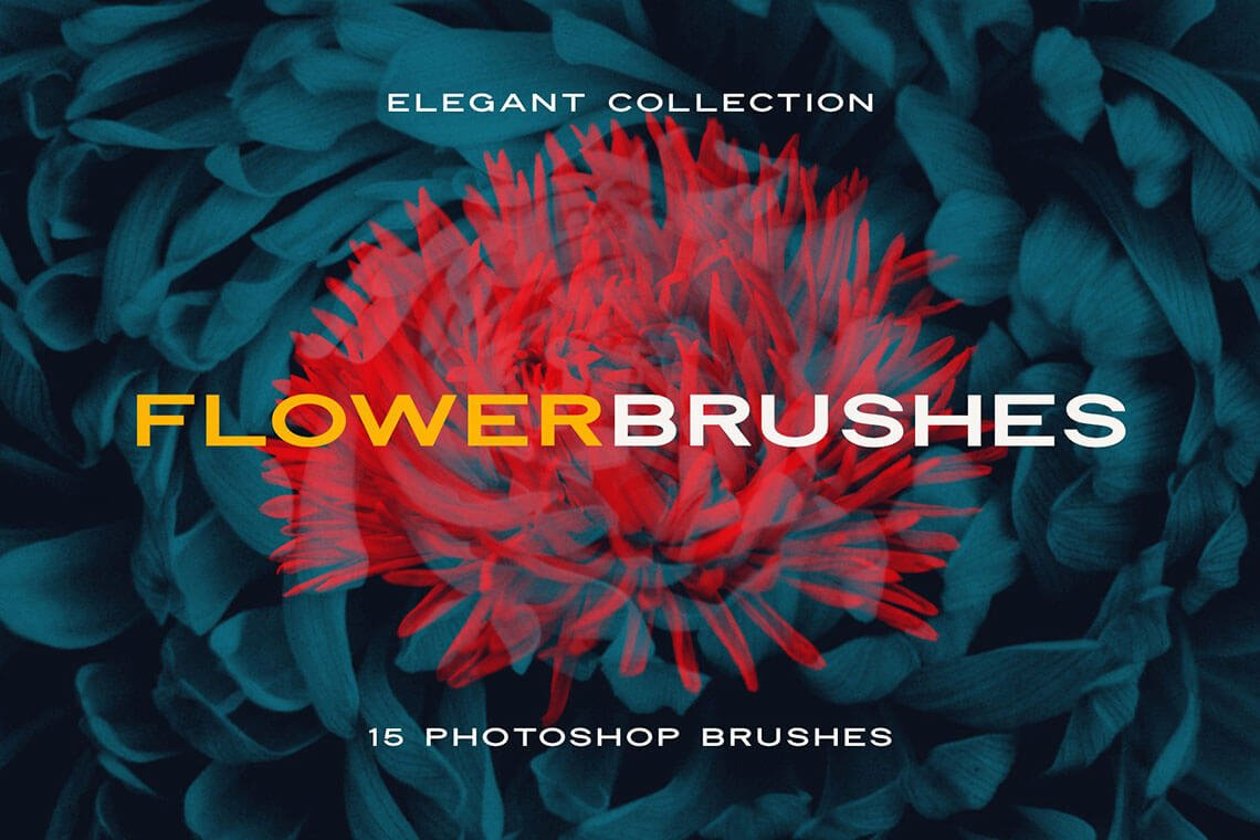 Elegant Flower Photoshop Brushes