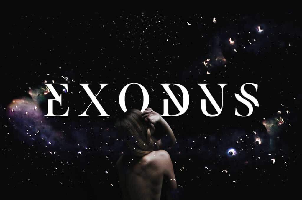 Exodus Monogram Font