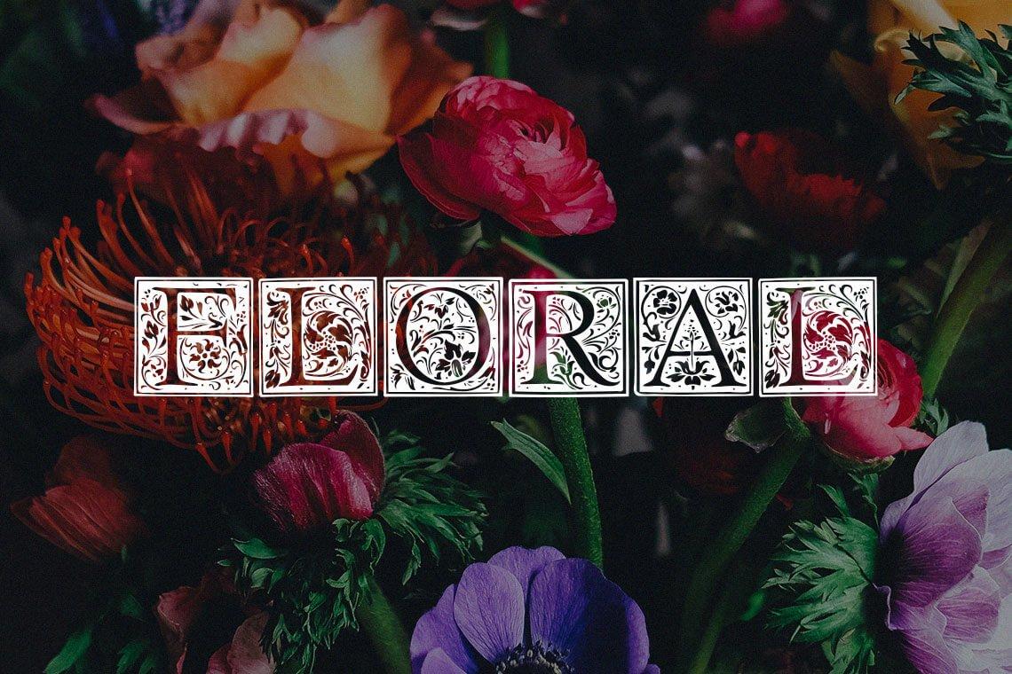 Floral Capitals