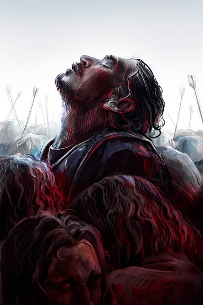 Jon Snow by Kurai-Kardi