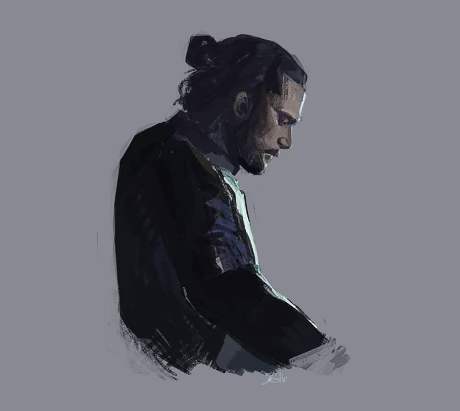 Jon Snow by Sarah Gaudett