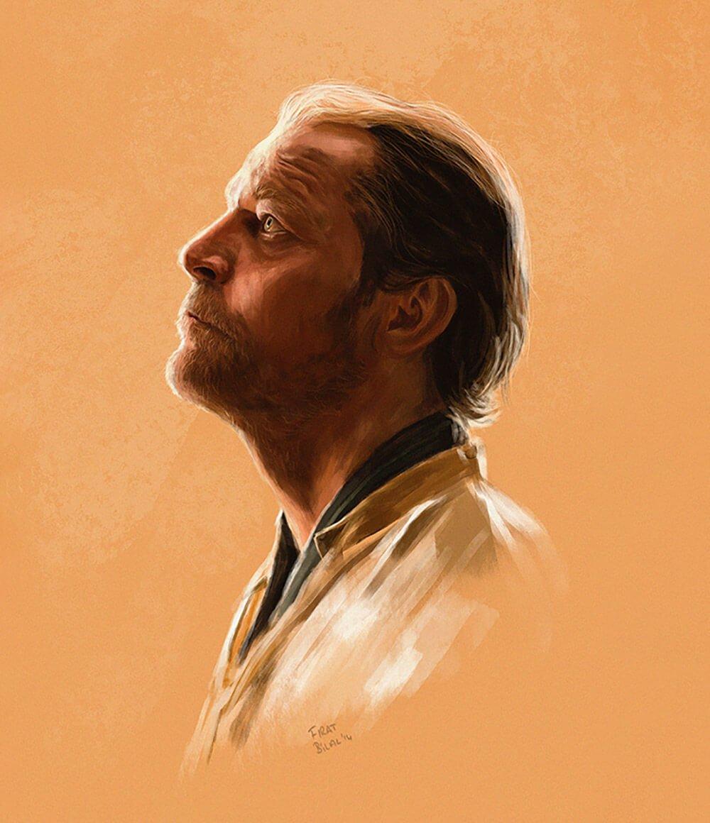 Jorah Mormont by Firat Bilal