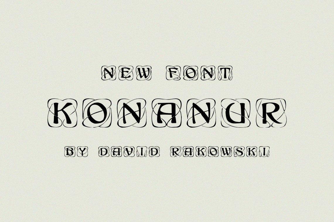 Konanur Monogram Font