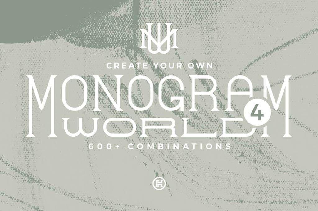 Monogram World 4 — Monogram Font
