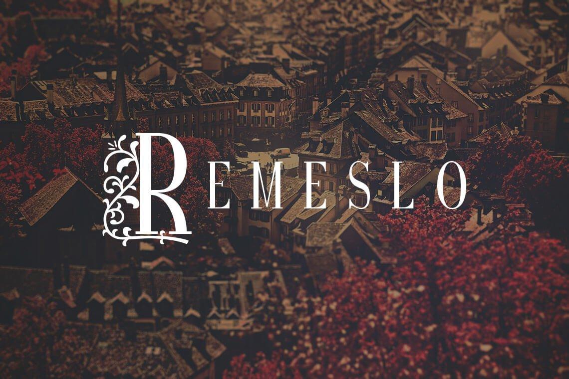 Remeslo STD Font