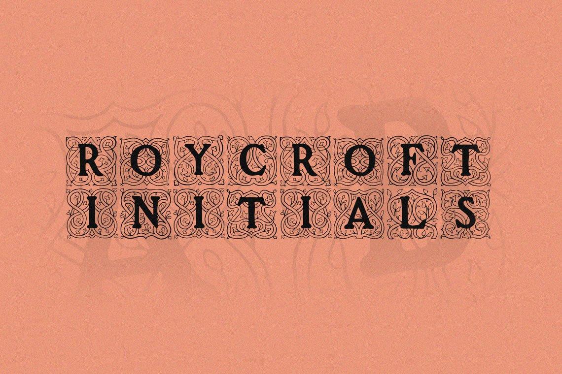 Roycroft Initials