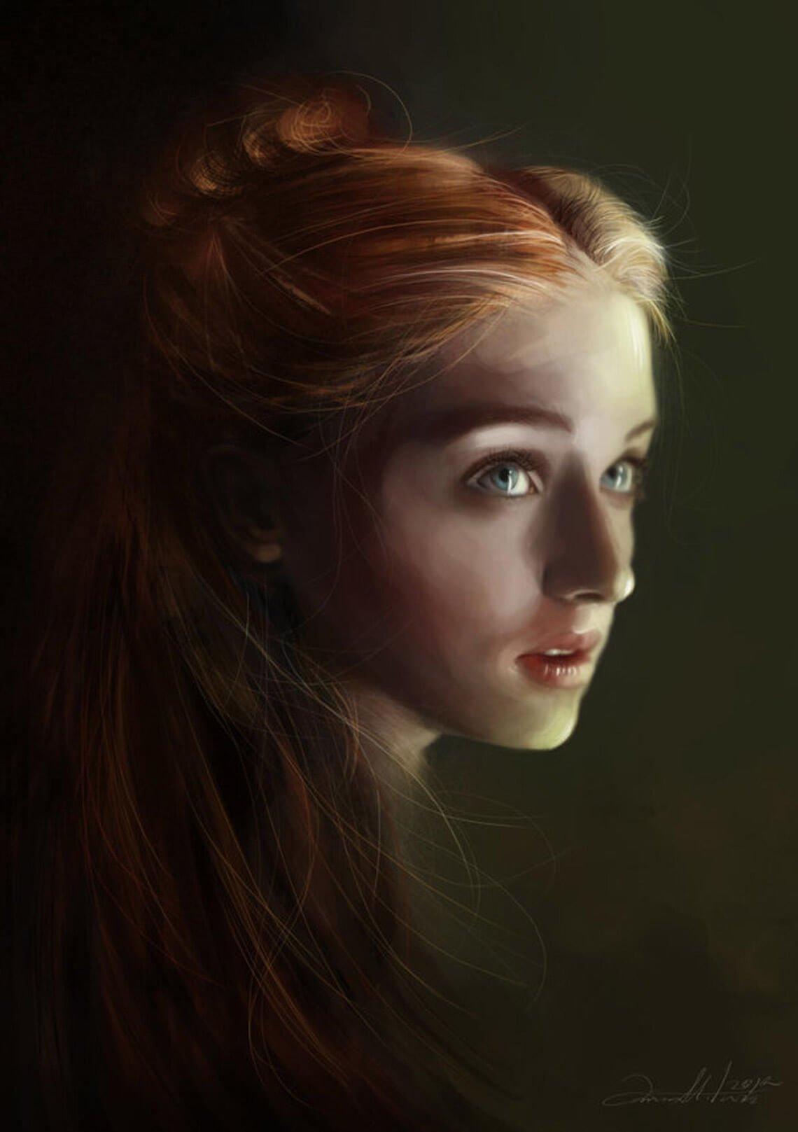 Sansa Stark by Dalisa CG
