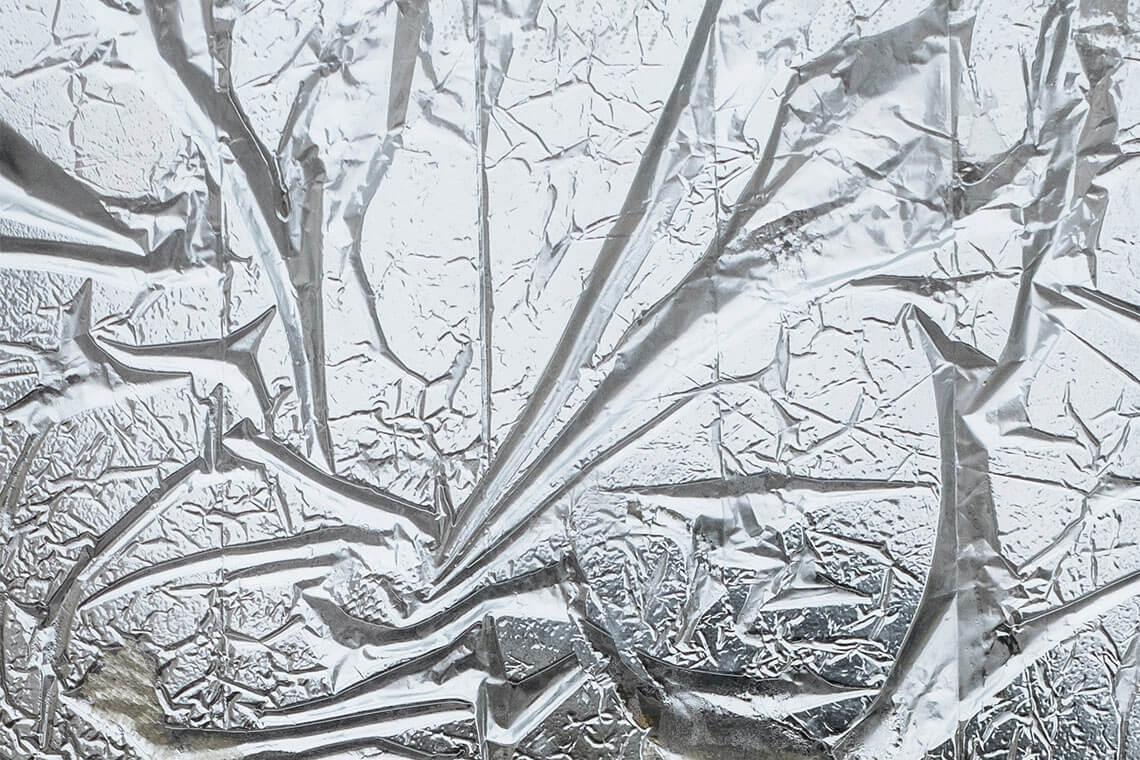 Silver Aluminium Foil