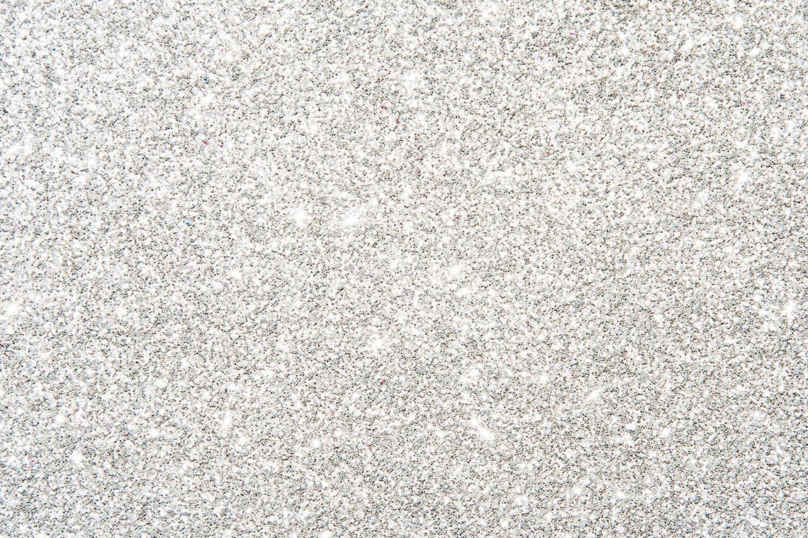 Silver colored glitter background