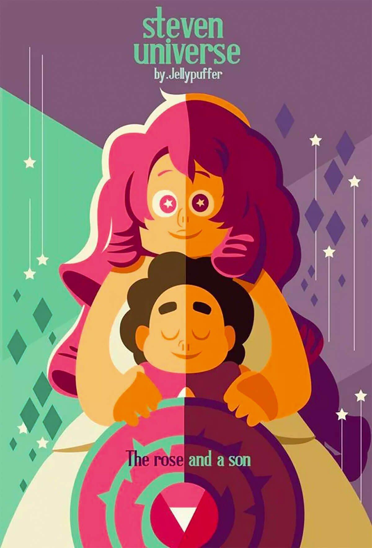 Steven Universe by Tom Whalen