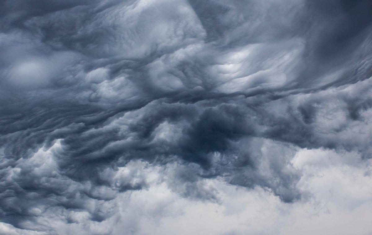 Stormy sky by Wendy Bandurski-Miller