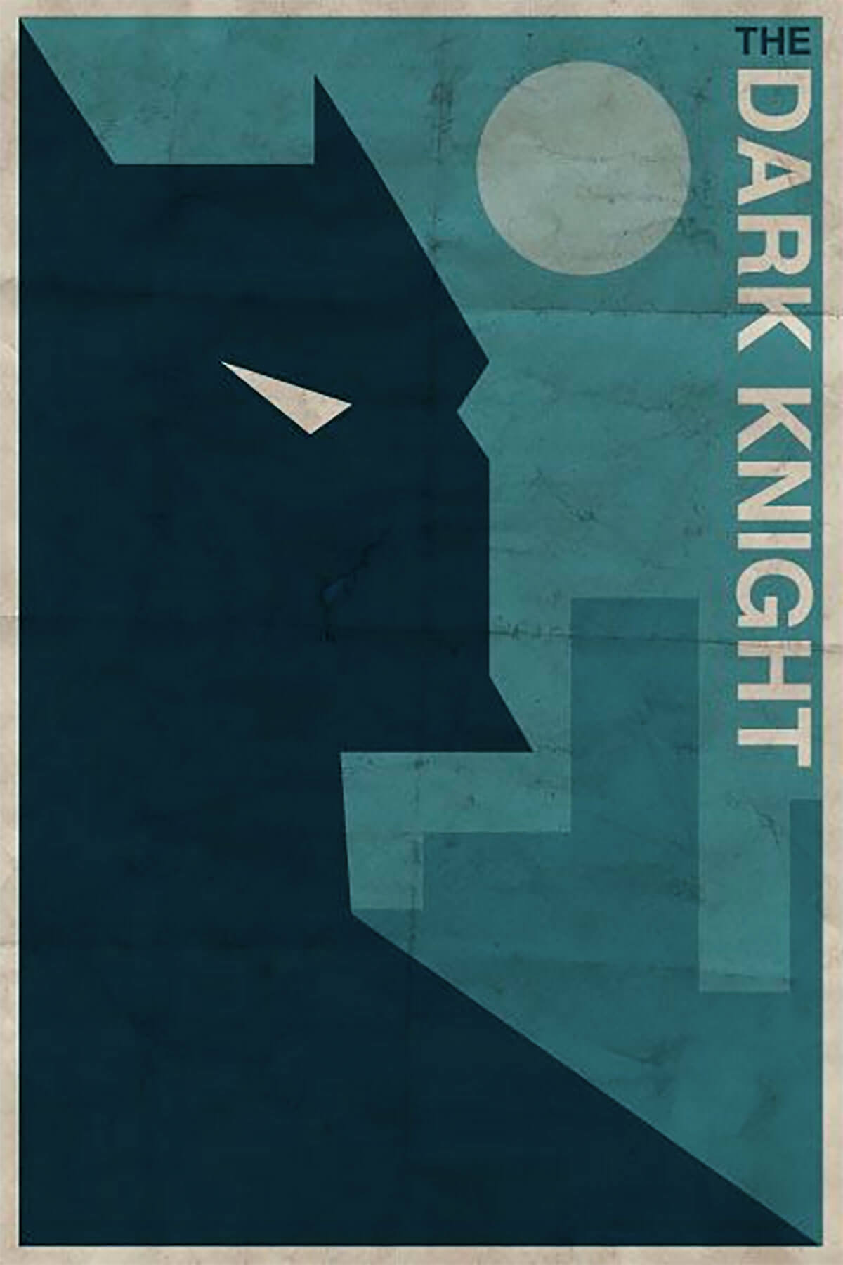 The Dark Knight by Justin Van Genderen