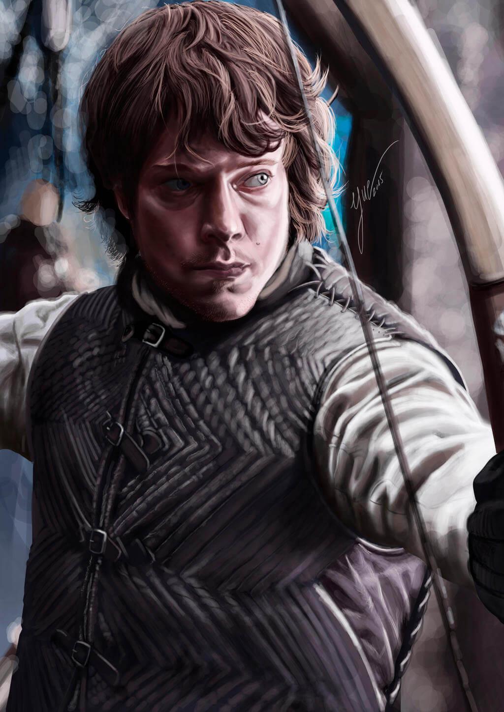 Theon Greyjoy by Yue
