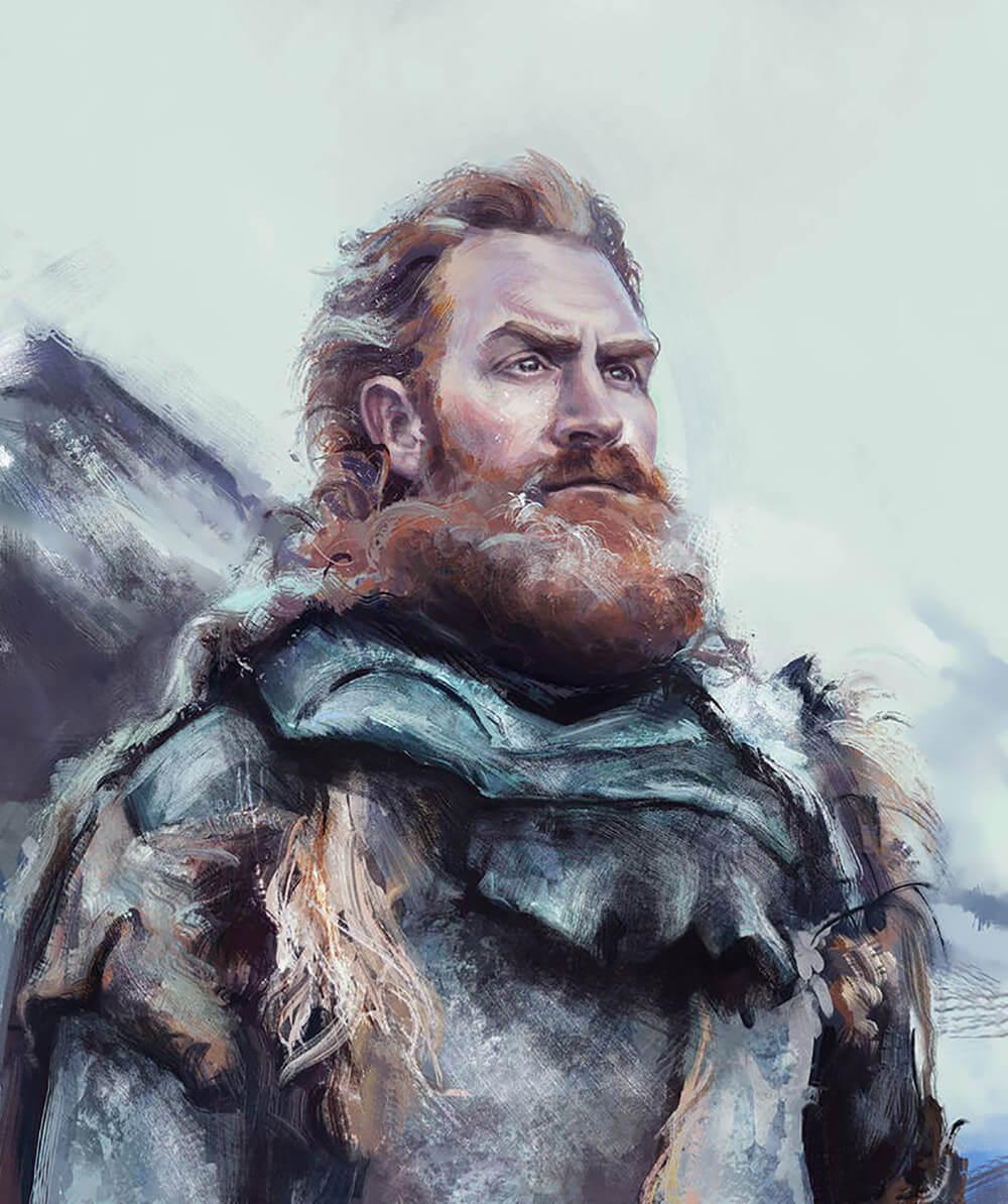 Tormund Giantsbane by Ida Stoycheva