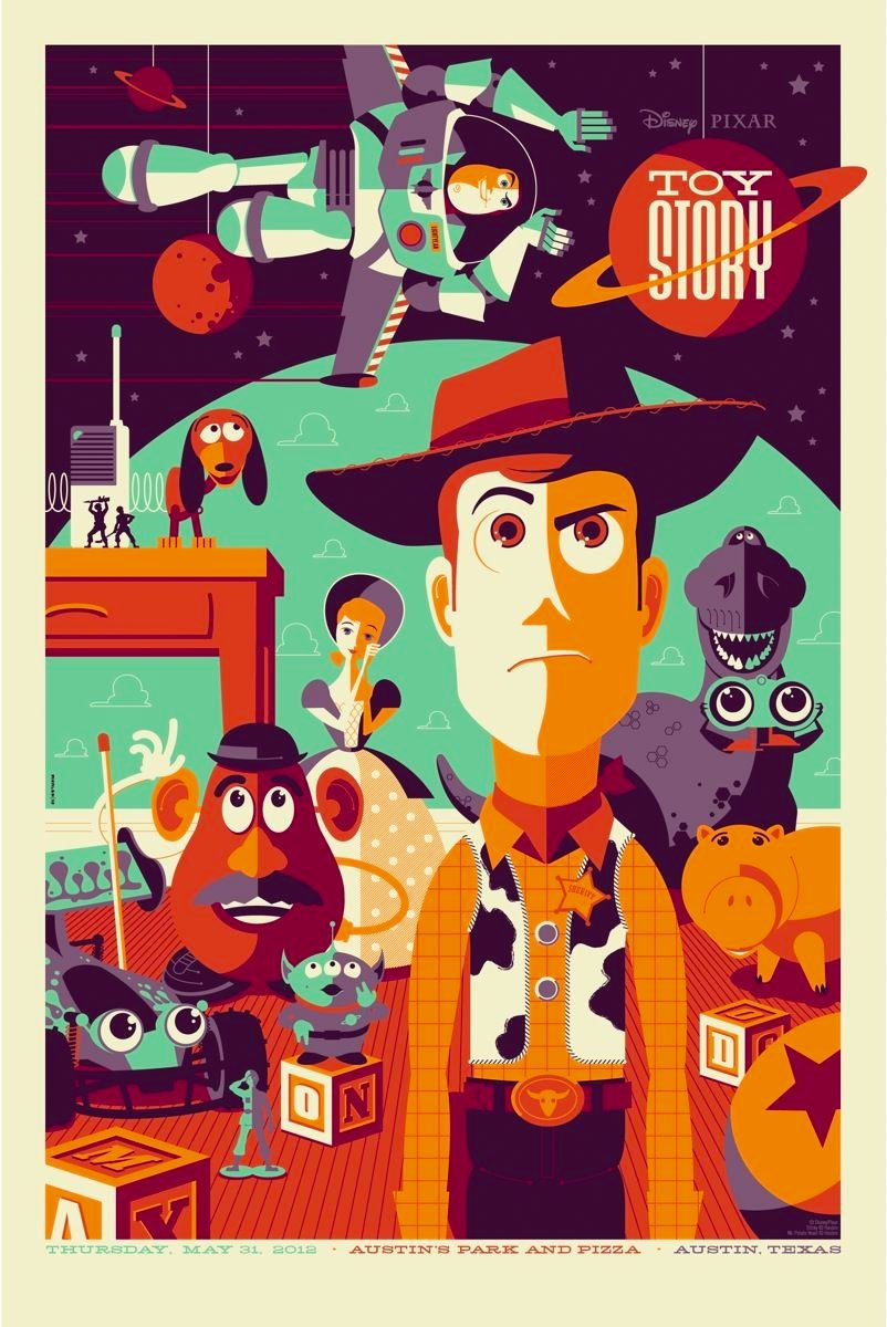 Toy Story by Tom Whalen