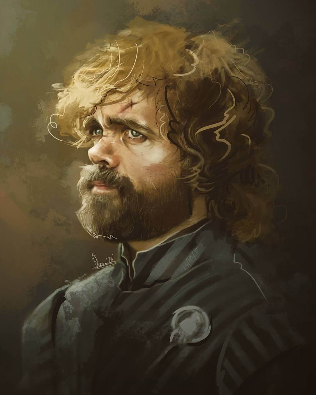 Tyrion Lannister by Federico Dalix