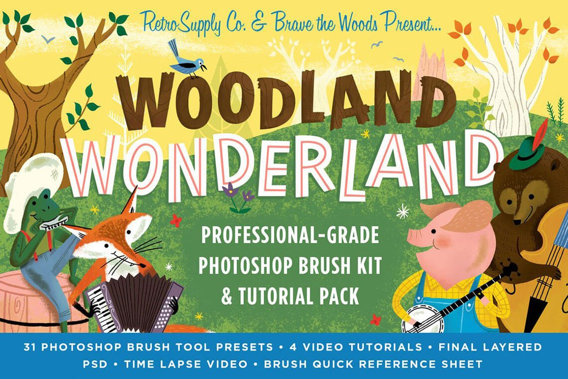 Woodland Wonderland Brush Pack