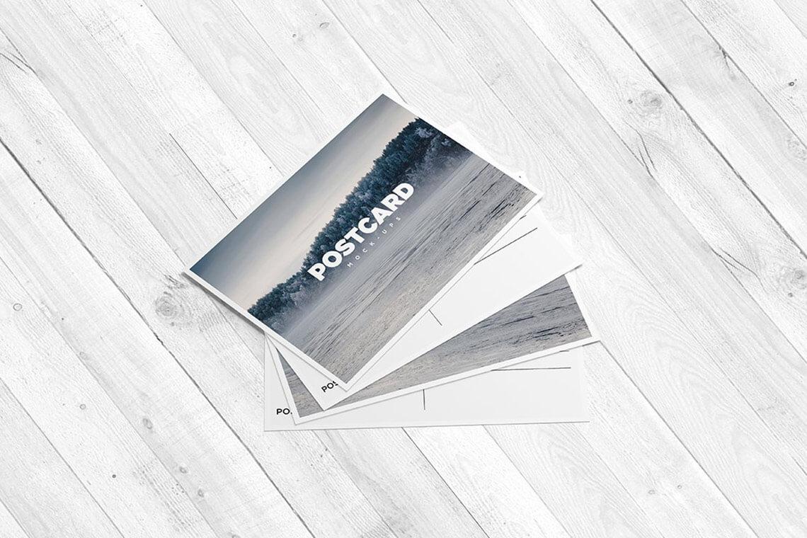 A6 Flyer: Postcard Mockup