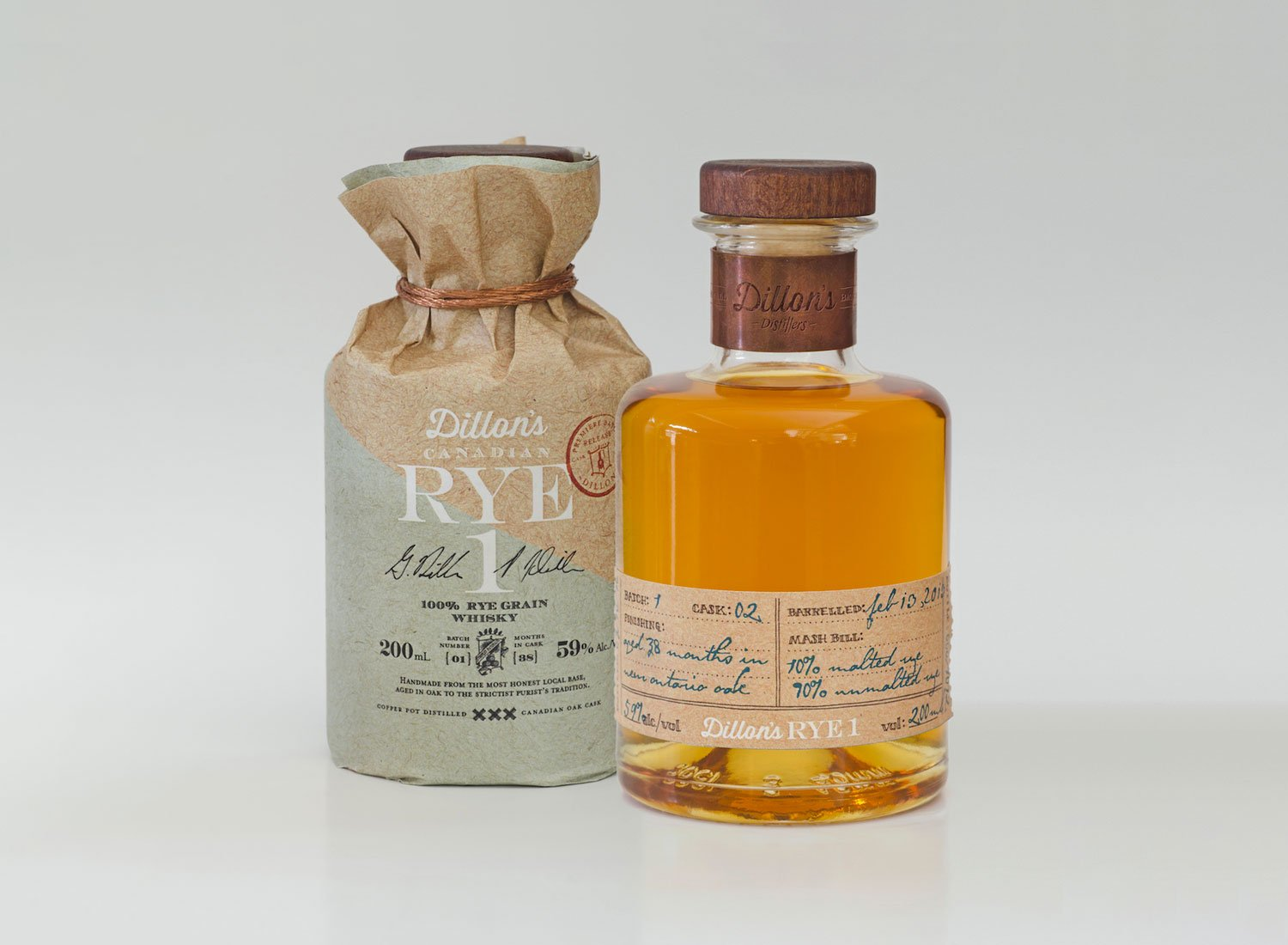 Dillon's Rye 1 Whisky by INSITE