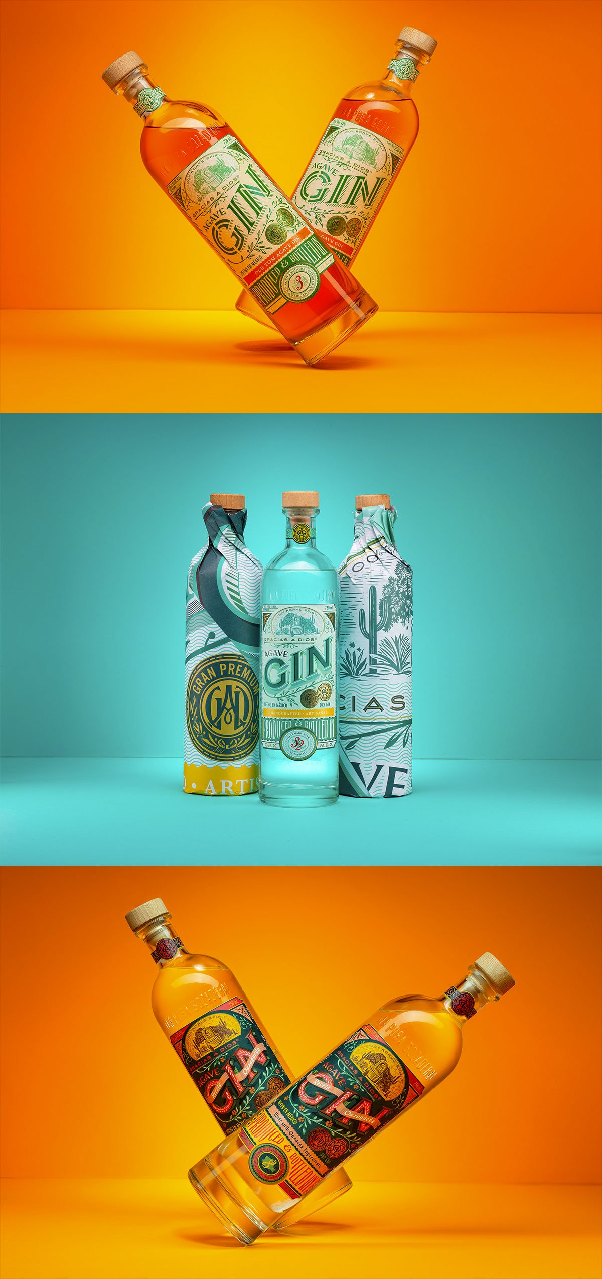 Gracias a Dios Agave Gin by Abraham Lule