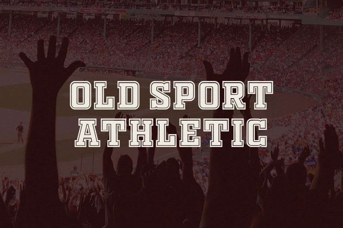 Old Sport Athletic Font