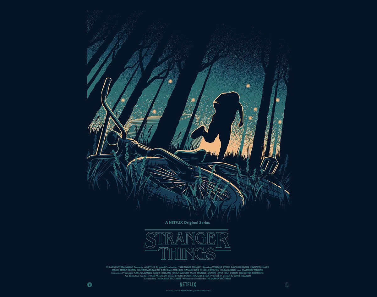 STRANGER THINGS by TommyPocket Design and Poster Posse