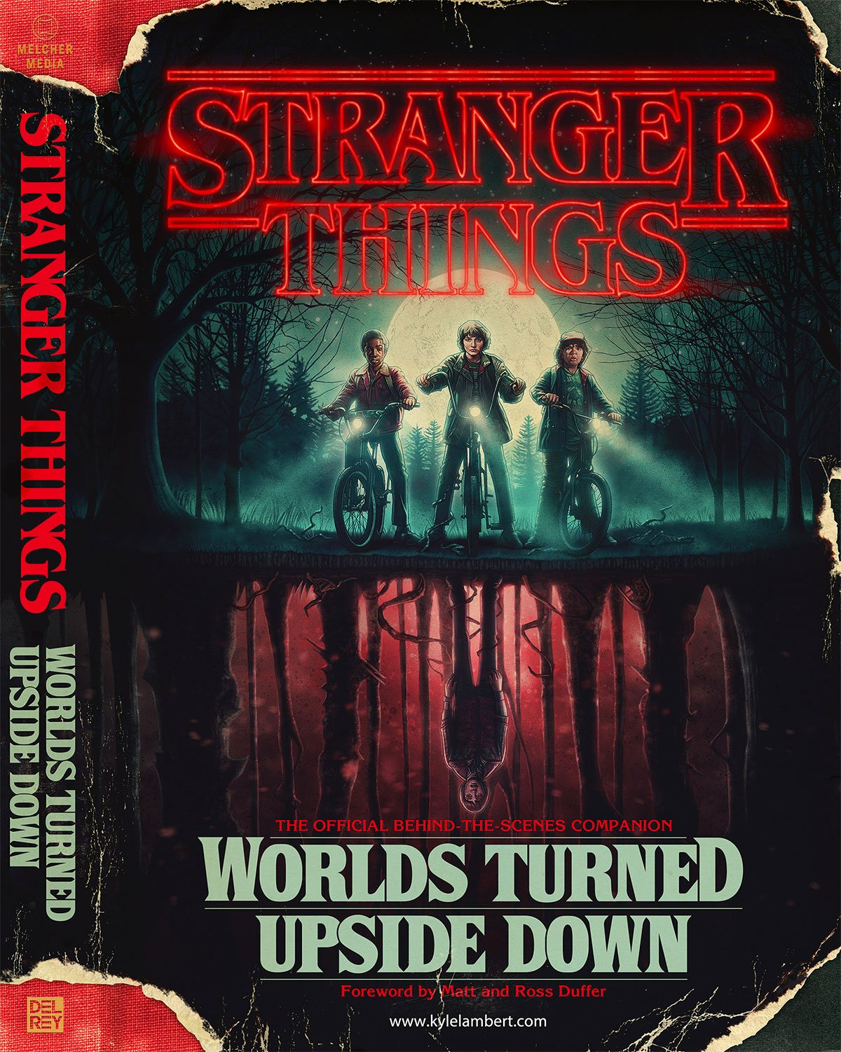 Stranger Things - Worlds Turned Upside Down by Kyle Lambert