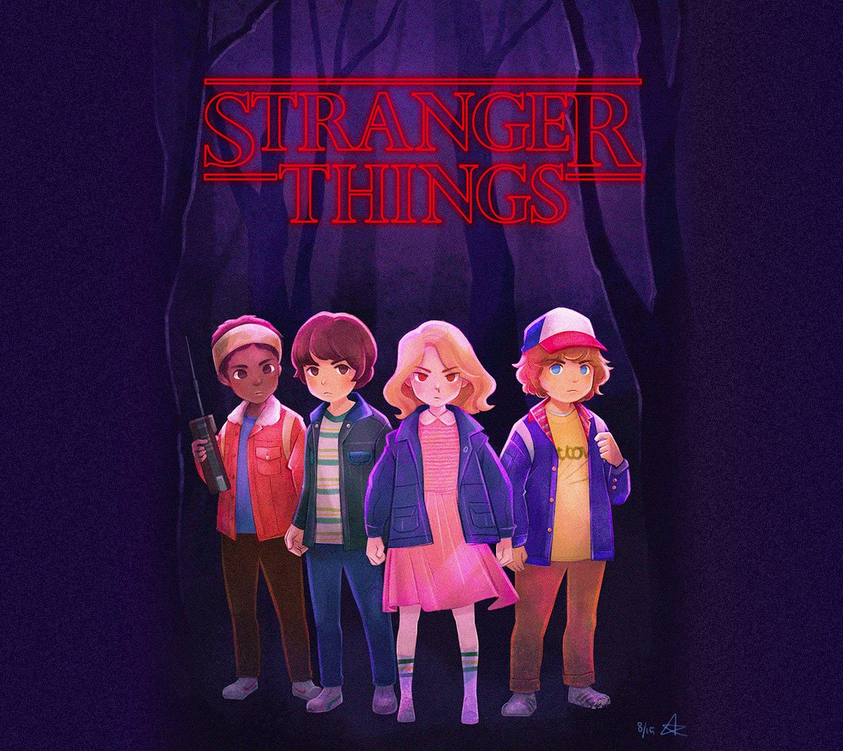 Stranger Things by Eunbyul Choi