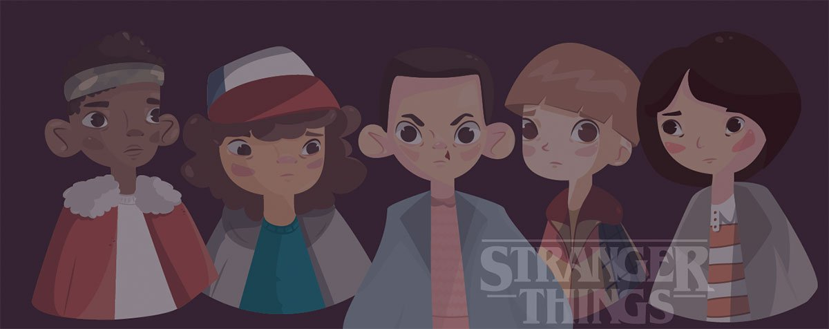 Stranger Things by Mariel Cohete