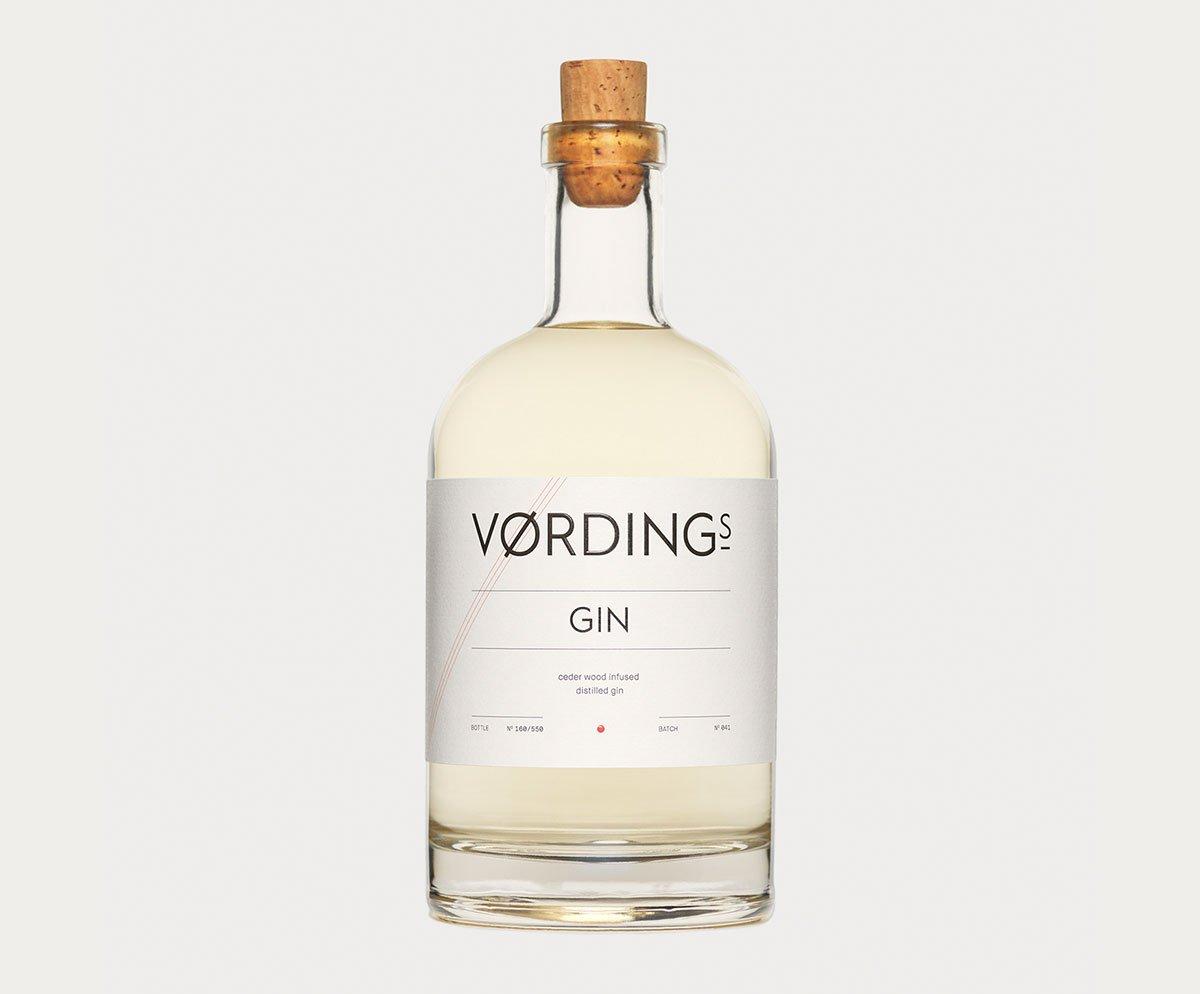 Vørding Gin Bottle Design