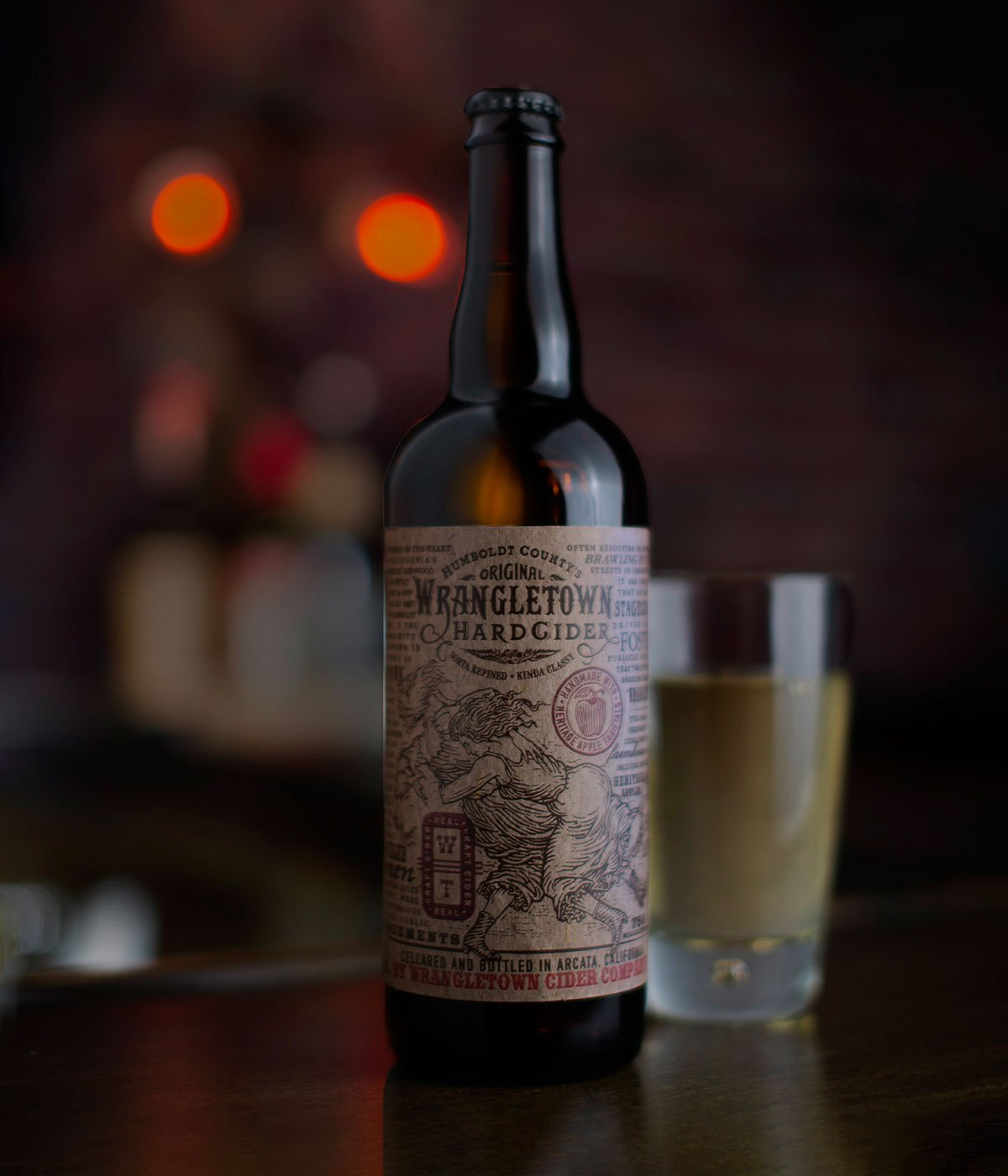 Wrangletown Hard Cider by Tony Auston