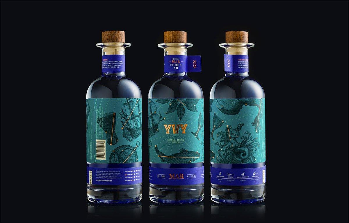 YVY Gin by Estúdio Bogotá