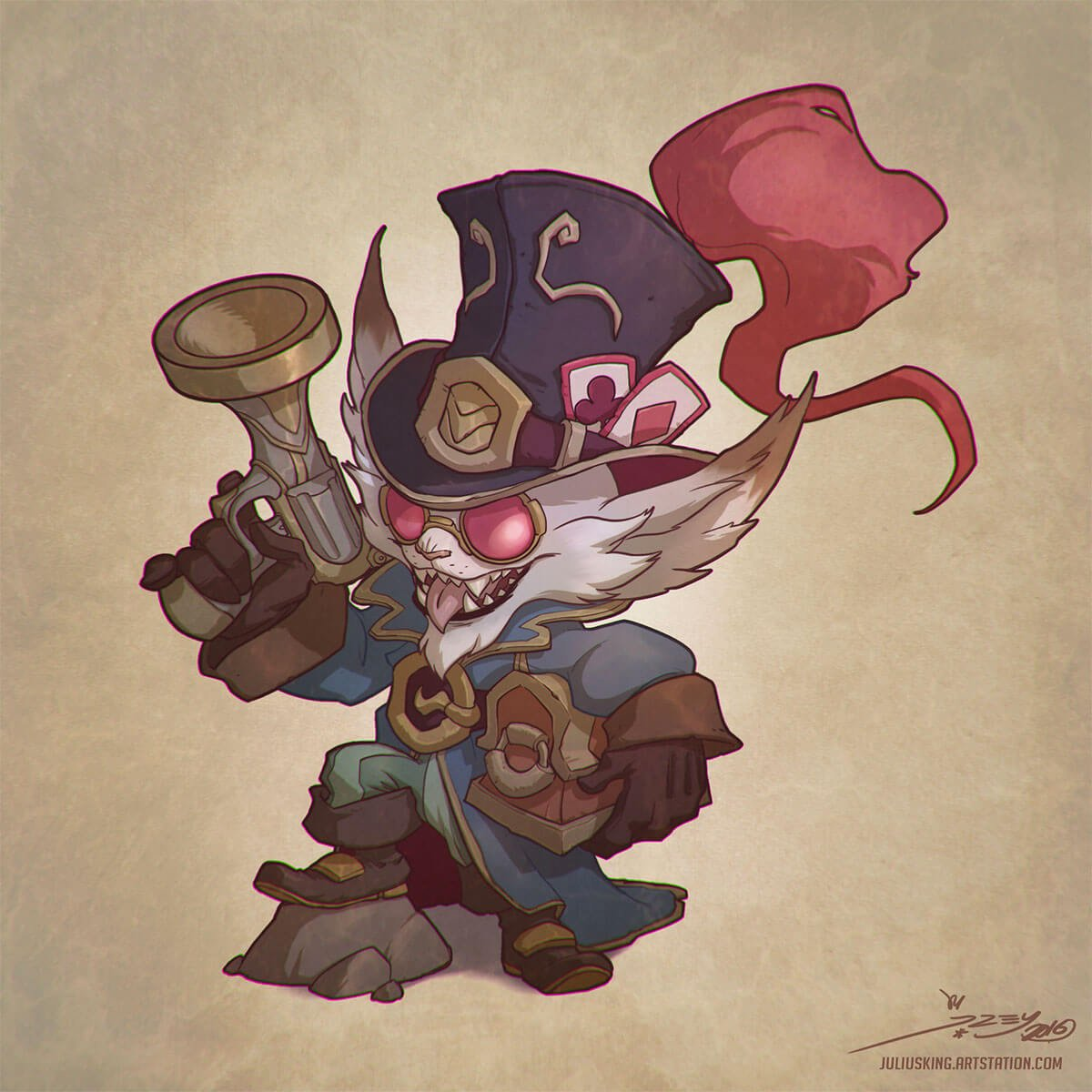 FERDO THE FURRY BANDIT by Julian del Rey