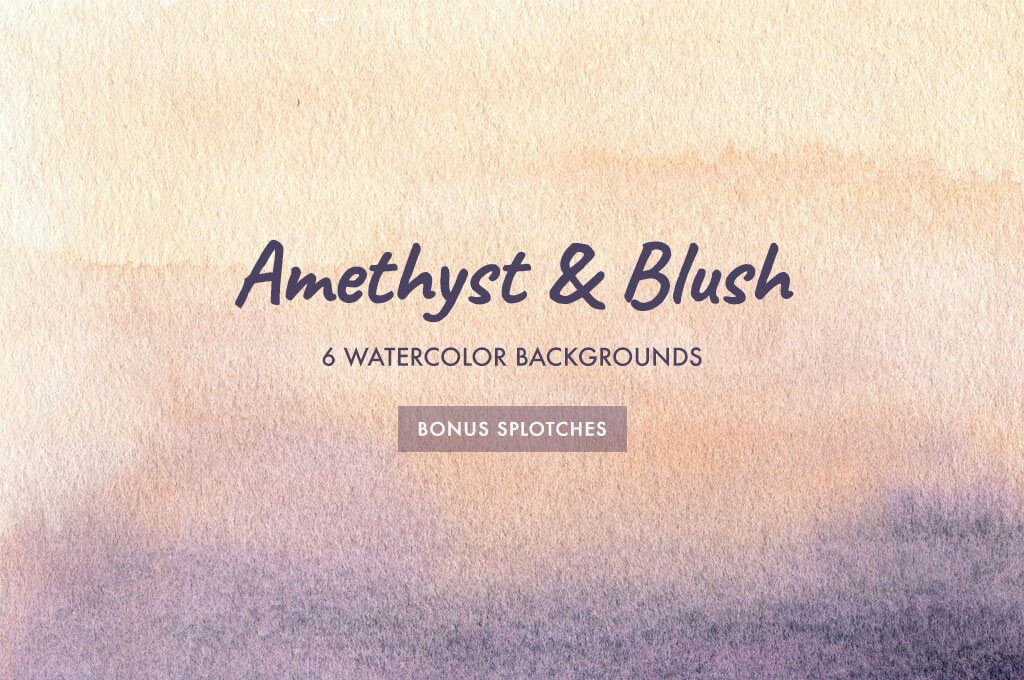 Blush Watercolor Backgrounds