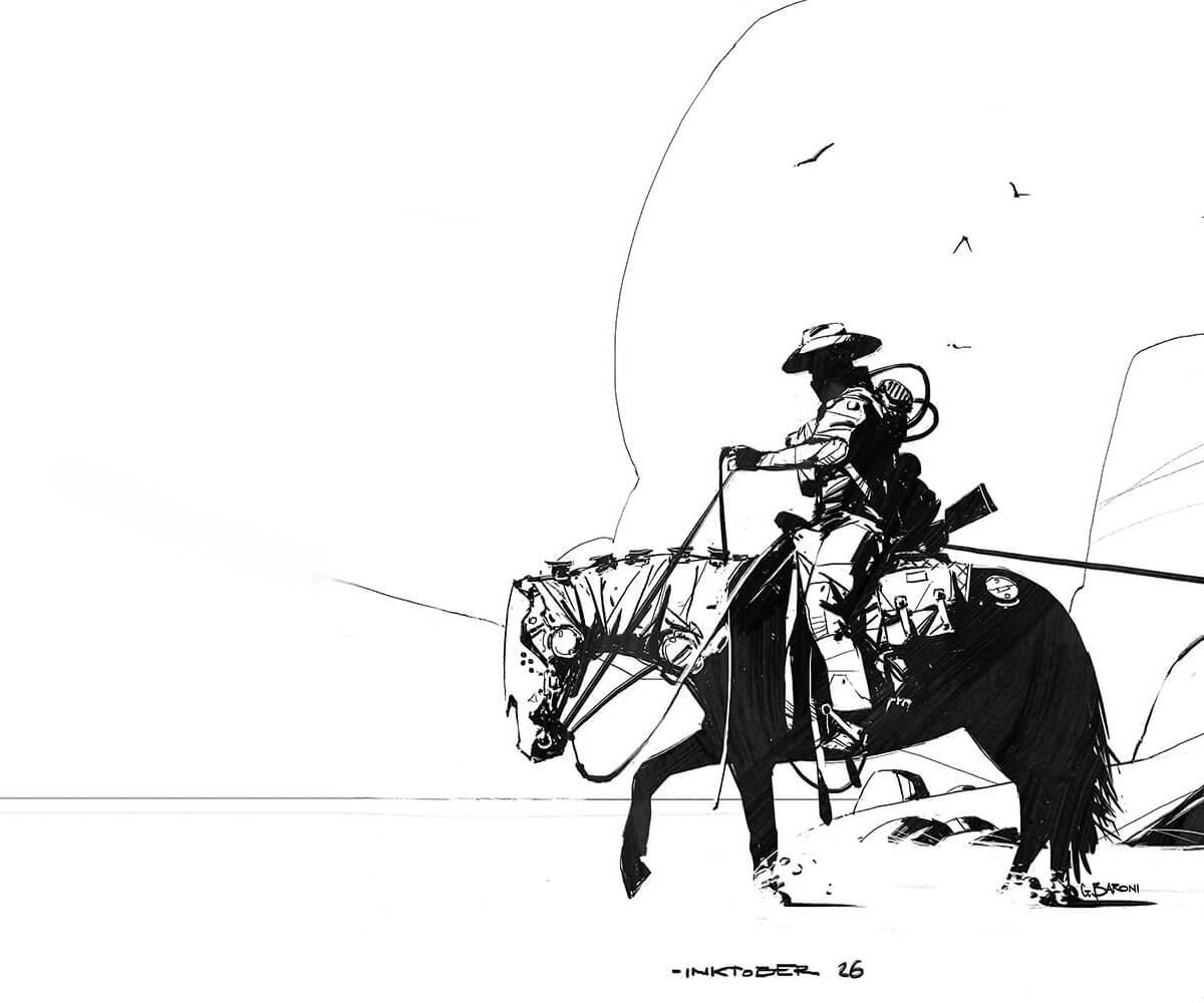 Ghost Rider by Giorgio Baroni